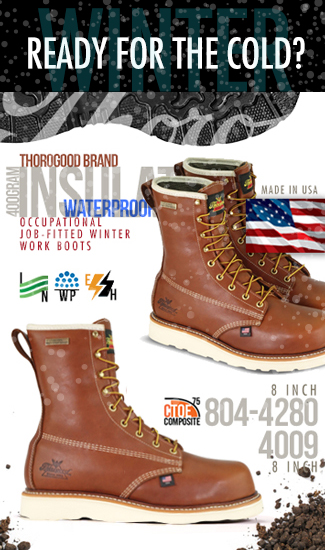 Thorogood Work Boots | American Made Since 1892 | Union Made
